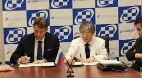 На встрече большой двадцатки Андрей Каприн и Нарияки Мацура подписали договор о сотрудничестве