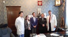 НМИЦ радиологии и онкологический институт г.Осаки подпишут договор на встрече большой двадцатки