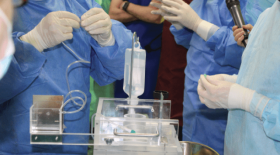 Первая в России операция по радиоэмболизации печени выполнена отечественными радиоисточниками