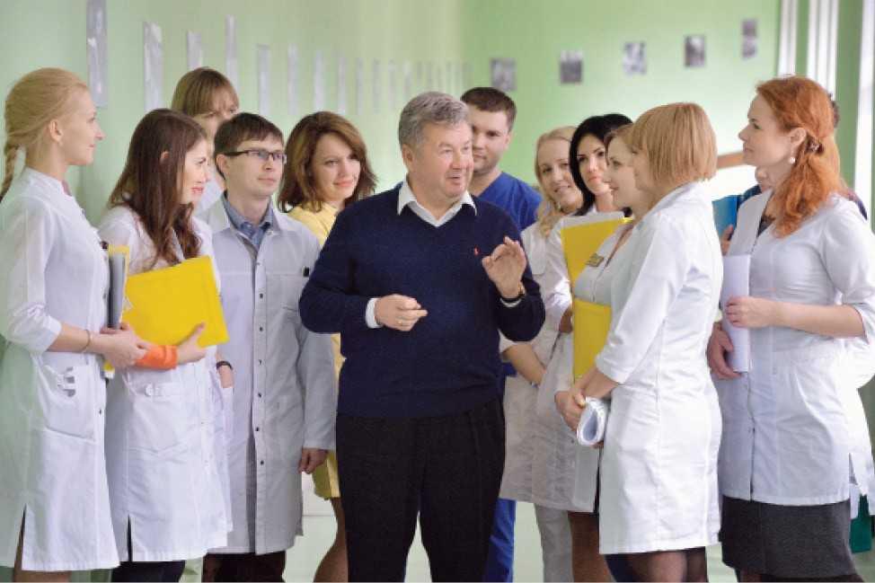 Андрей Владимирович Важенин, академик РАН, заслуженный врач РФ